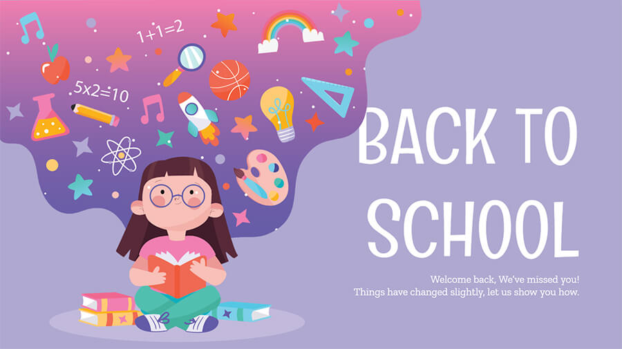 Welcome Back to School SMS, Wishes and Greetings For Students.