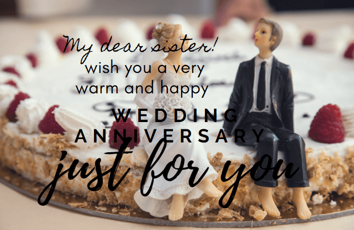 Wedding Anniversary inspirational SMS & Wishes For Sisters