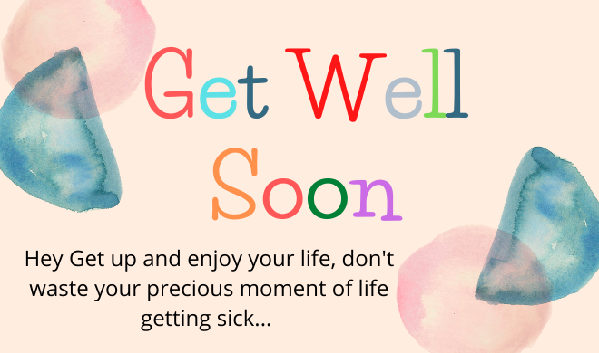 Get Speedy Recovery SMS, Wishes, Quotes with Islamic point of view