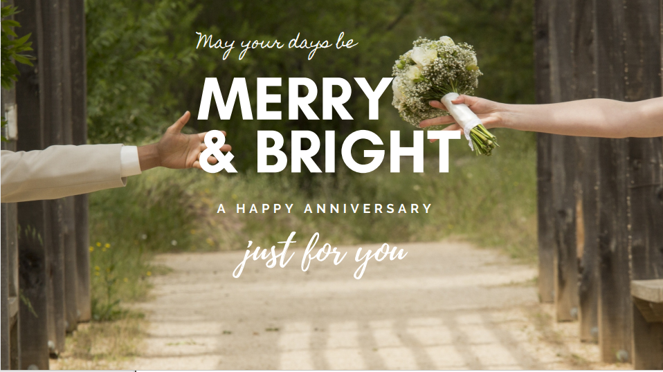 Romantic Happy Wedding Anniversary SMS, Wishes for Husband and Wife