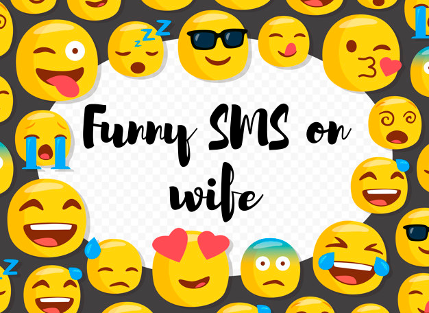 New Funny Husband Wife Jokes and SMS in English