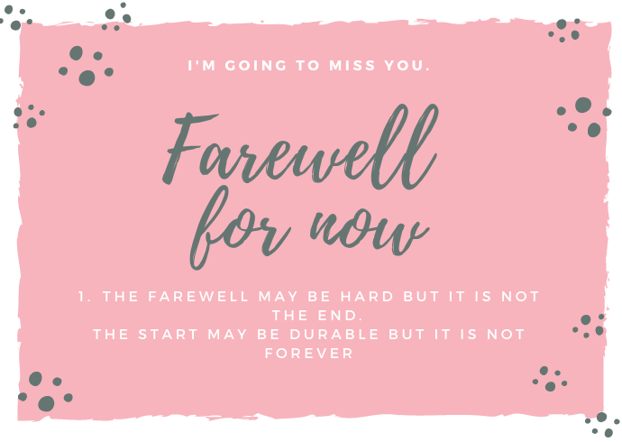 Emotional Farewell SMS, Prayers and Wishes for friends