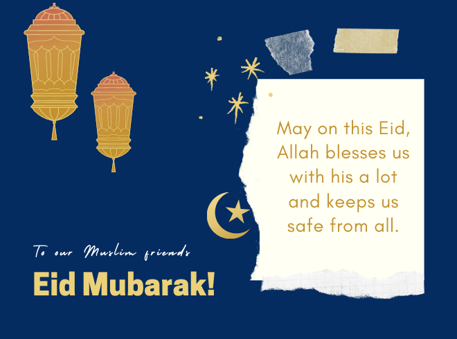 Funny Eid Mubarak SMS, Wishes, and Prayers in English